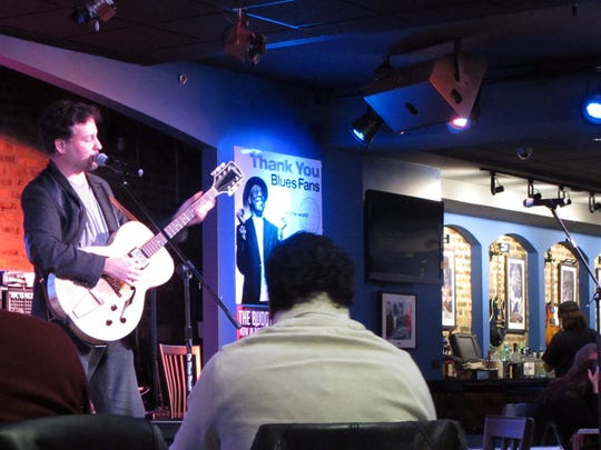Musicians sing the blues daily at Buddy Guy's Legends in Chicago, which opened in 1989.
