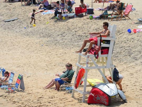 Ocean City Beach Beach Patrol has had an increase in