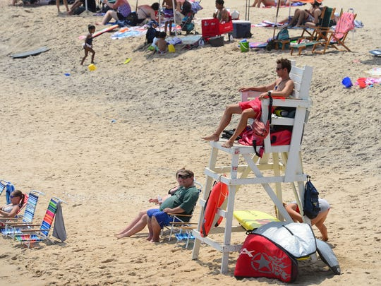 Ocean City Beach Beach Patrol has had an increase in