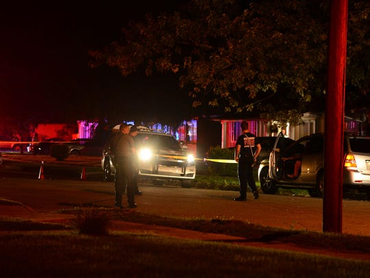 Salisbury Police responded to multiple shots fired