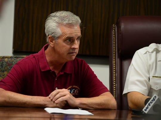 Joe Theobald, Ocean City Emergency Management Director.