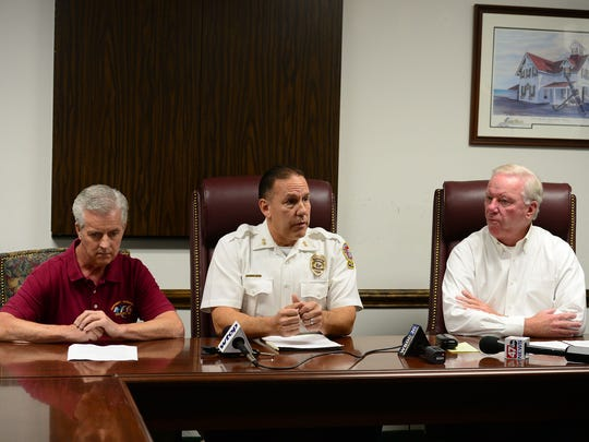 Joe Theobald, Ocean City Emergency Management Director,