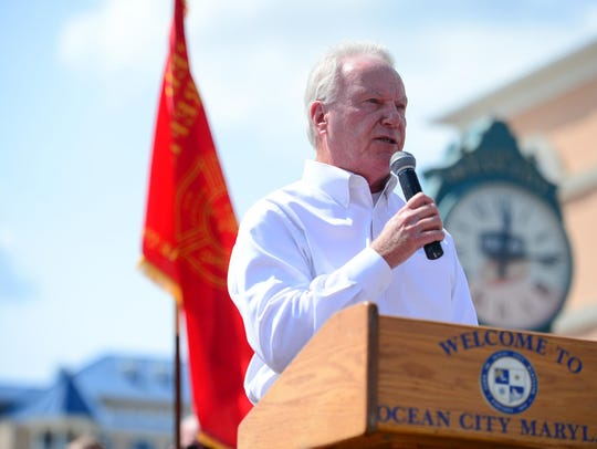 A file photo of Ocean City Mayor Rick Meehan.