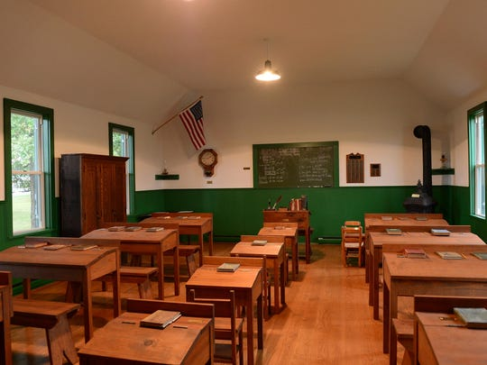 Godwin's School, a one-room schoolhouse closed in 1936, has been the focus of an extended restoration effort by the Millsboro Historical Society since 1988.