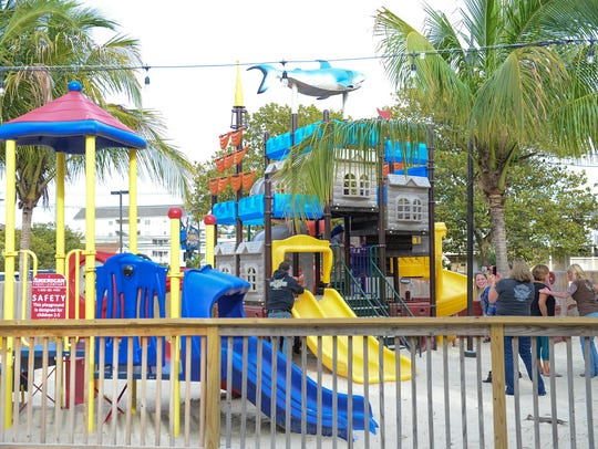 Ropewalk located in Ocean City has a large play area