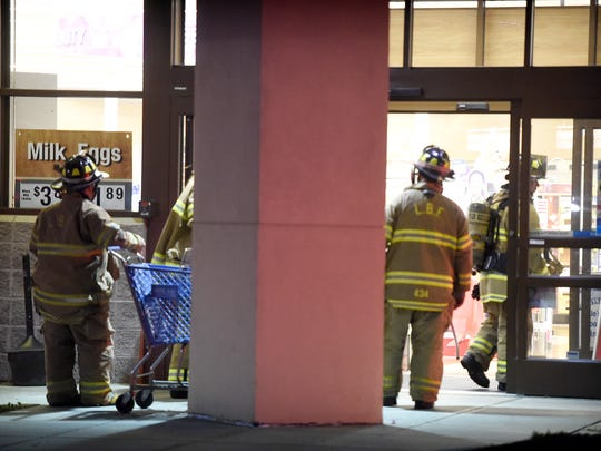 Lebanon city firefighters responded to the Rite Aid