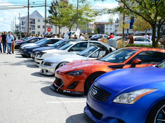 H2Oi enthusiast gathered at 141st street in Ocean City to show off their cars and meet on Saturday, Sept. 30, 2017.