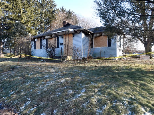 A fire early Tuesday morning left a house at 100 N. Weaber St. in Annville a total loss. The first call came in at 4:36 a.m.