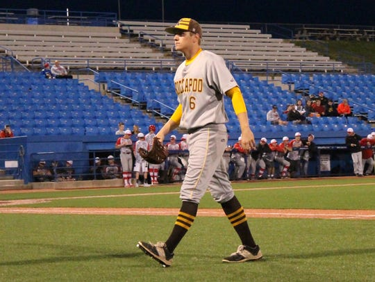 Kickapoo senior pitcher Adam Link will be among the