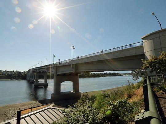 The Manette Bridge in Bremerton.