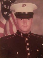 Recently-retired Cpl. Scott Bernal served in the Marine