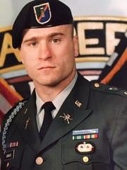 Steve Banach wearing his uniform for the 1st Ranger