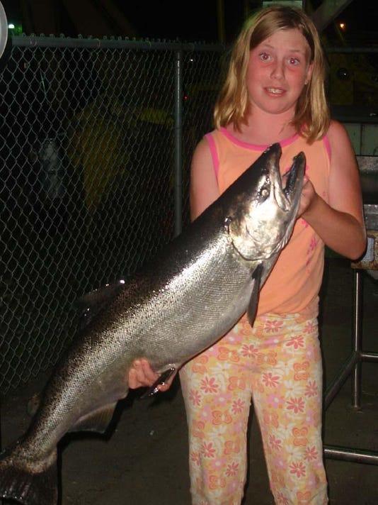 K D Salmon Tournament K/D anglers hop...