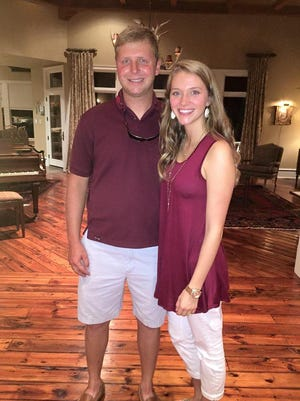 Siblings Morgan and Allie Cowles are both students at Mississippi State University.