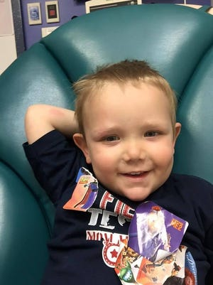 As Calvin Diekhans fights leukemia, family and friends are ralling to raise money for his treatment by holding a benefit Saturday, Sept. 19, at the Mansfield Convention Center.