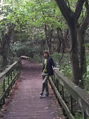 Mick Jagger posted this photo of his visit to Radnor Lake on Wednesday.