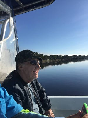 Ralph Larue, 87, heads out for a fishing trip Nov. 12