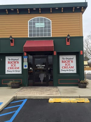 The original Rich's Ice Cream will open this spring at 1801 Route 37 East in Toms River.