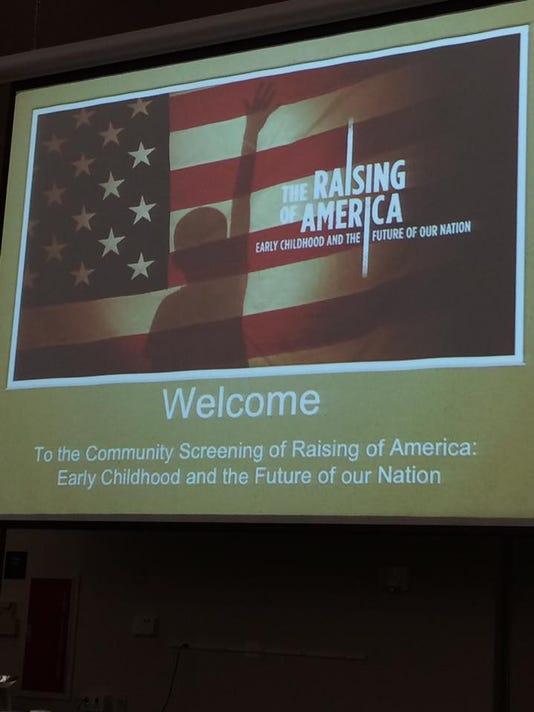Raising of America screening