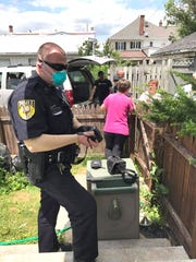 A powerful odor reported by neighbors led to Palmyra