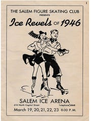 """Alice Suing was one of the stars of the production """"Ice Revels of 1946"""" in Salem."""