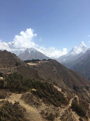 An early glimpse of the climb ahead of Loveland adventurer Matt  Brennan as he spends the next two months climbing Mount Everest.