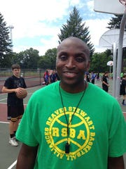 Demond Stewart is the first-year boys varsity basketball coach at University Prep.