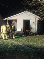 A fire at a vacant Pond Street residence on Dec. 28,