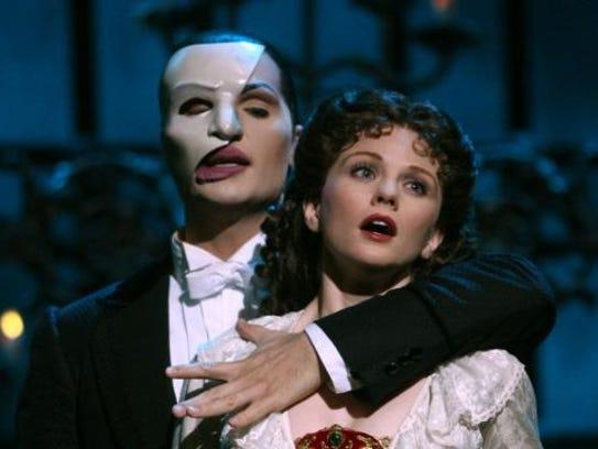 "Jon Cudia, veteran of ""Phantom of the Opera,"" performs"