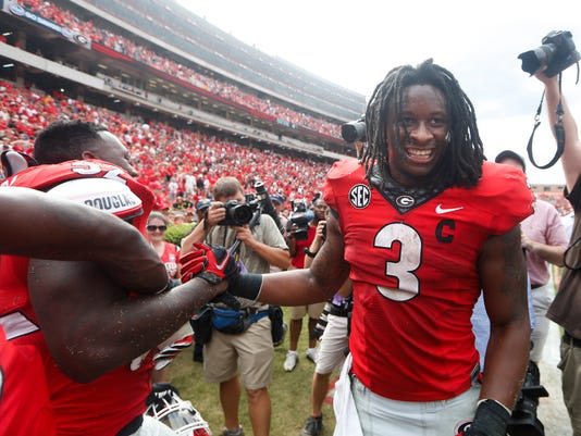 Georgia Gurley Football
