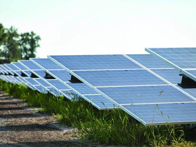 Delaware Electric Cooperative solar farm near Georgetown,