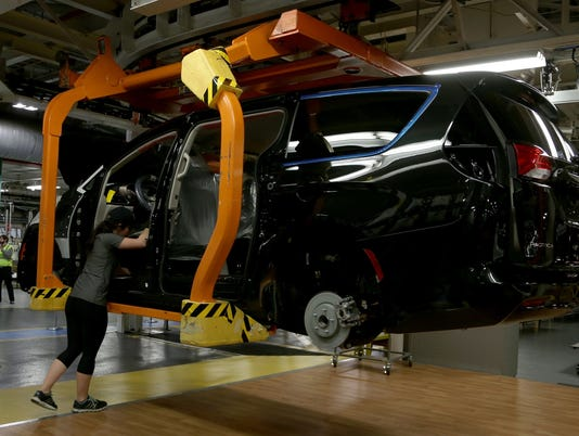 Chrysler Pacifica at Windsor Assembly