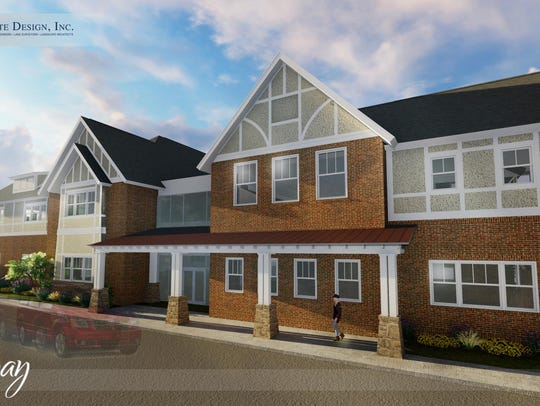 Architect's rendering of new Gateway House Clubhouse