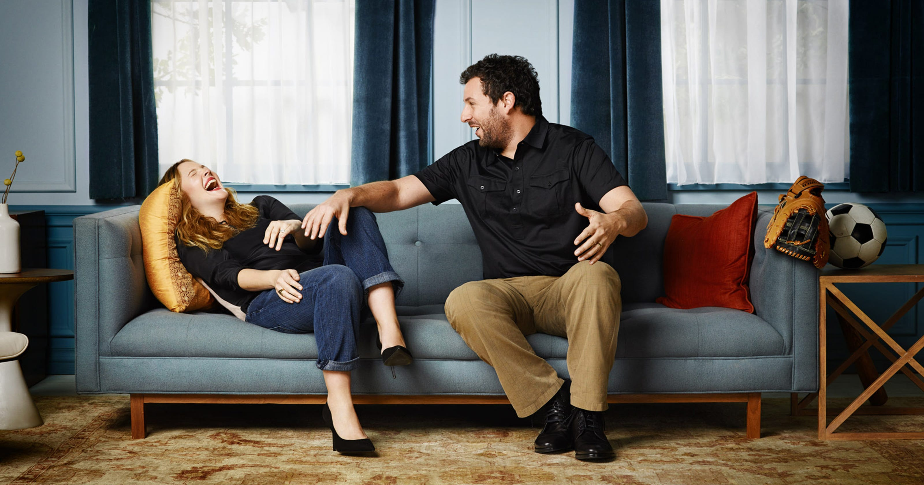 The key to the Sandler, Barrymore connection? Trust, respect