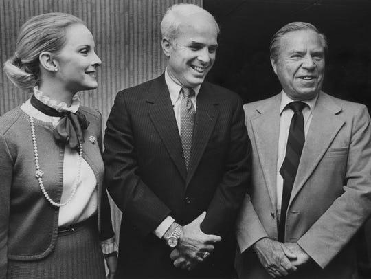 Rep. John McCain at Republican Headquarters in Hilton