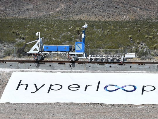 Hyperloop One demoed a rudimentary version of its high-speed