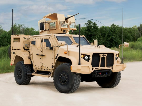 The Joint Light Tactical Vehicle from Oshkosh Corp.