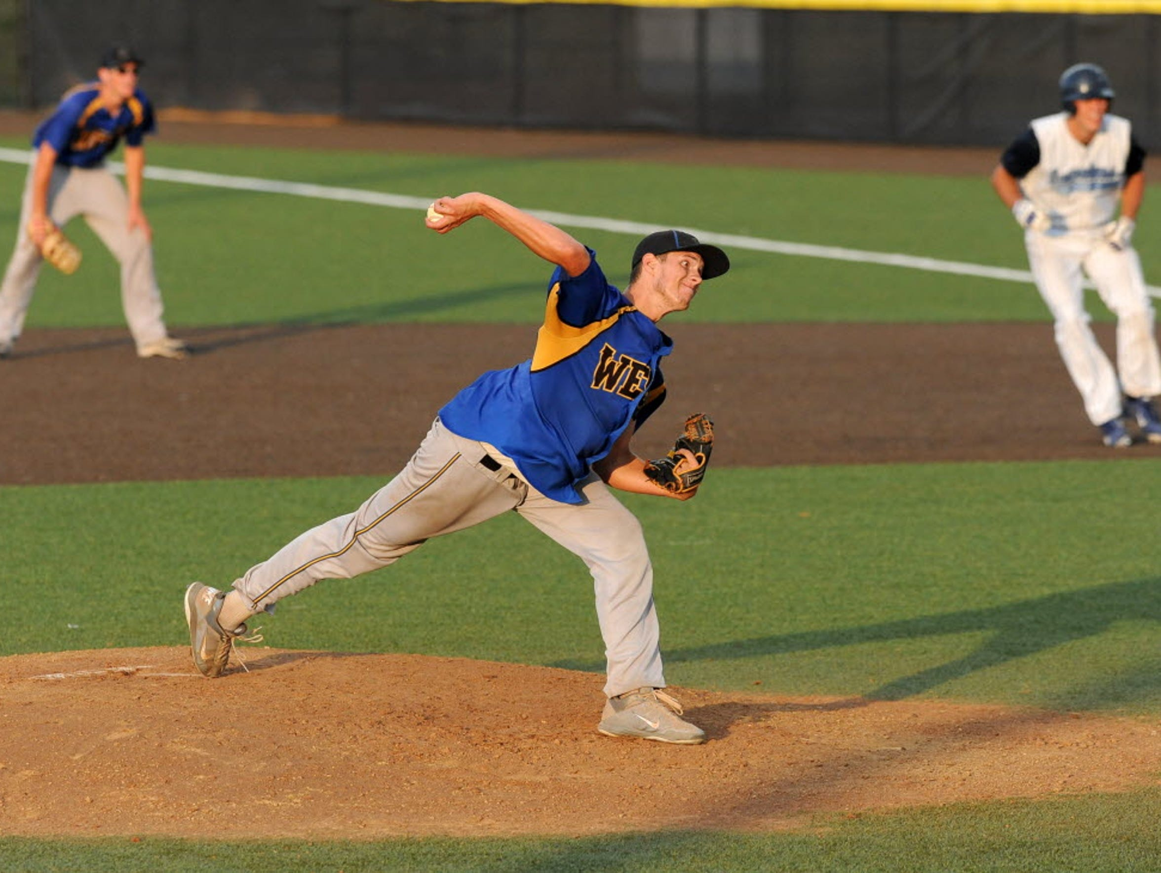 Senior Austin Fritz started the 2013 state title game against West Bend West.