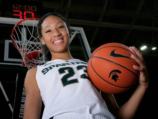 Michigan State women's basketball media day