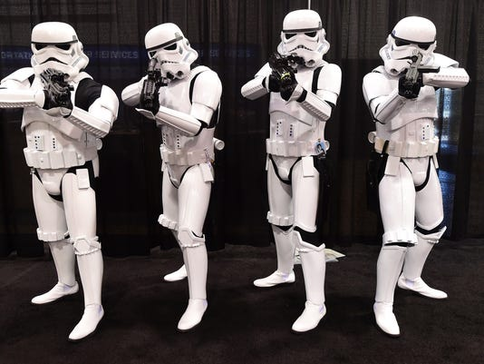 US-ENTERTAINMENT-STAR WARS-CONVENTION