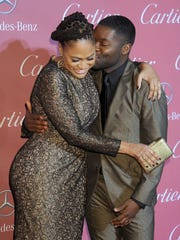 Director Ava DuVernay and actor David Oyelowo arrive