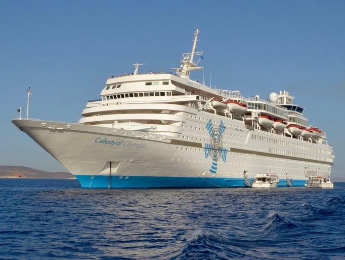 Celestyal Cruises' 37,773-gross-ton, 1,575-guest  Celestyal