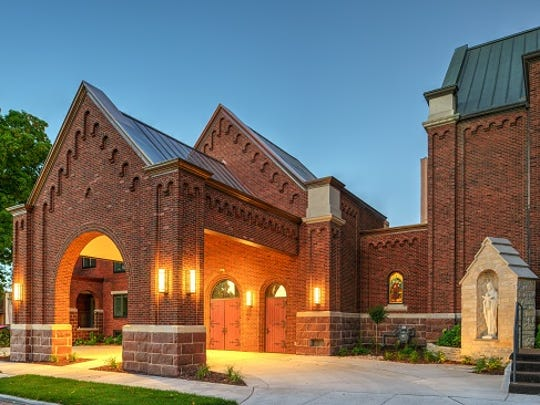 Ellis Construction received a Build Wisconsin award for its work on the Francis Hall addition at the Church of the Resurrection in Wausau.