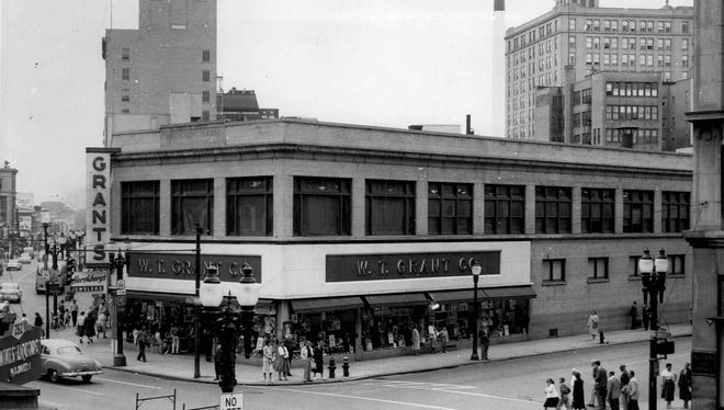 The Grants store at 293 E. Main St. as it appeared in the 1950s.