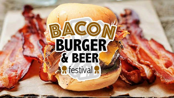 Bacon, Burger and Beer Festival is Saturday in Downtown Evansville.