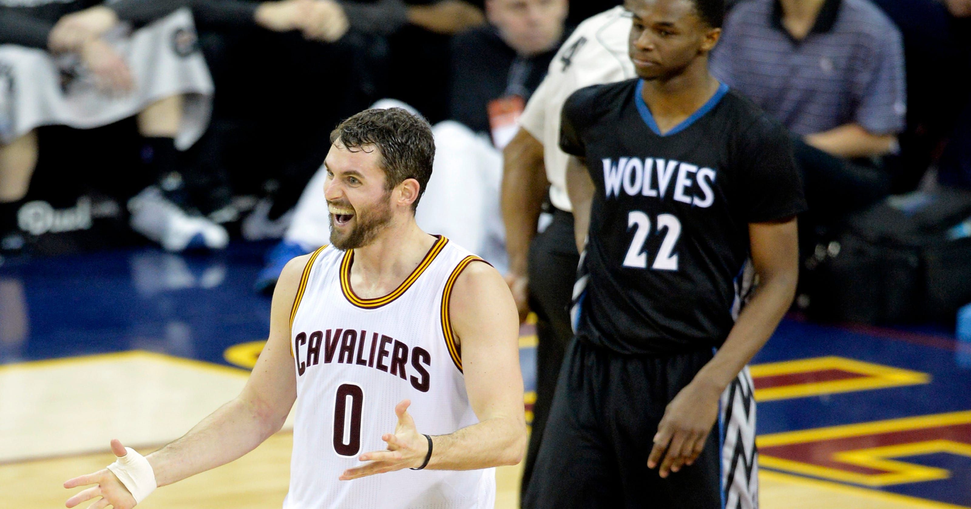 timeless design 52e9c c8f28 Kevin Love, Timberwolves rebuilding after trade