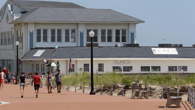 Nine restaurants operate inside Dune's Boardwalk and Cafe at 4 North End Boardwalk in Ocean Grove.
