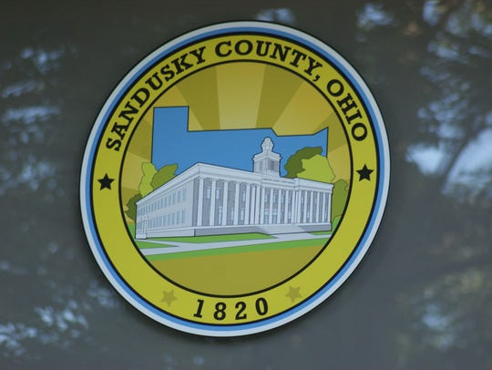 The new county seal designed by Sandusky County Commissioner