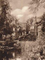York Cottage on the royal Sandringham estate in Norfolk, England, in about 1937.