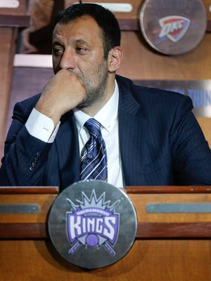 Vlade Divac, Sacramento Kings vice president of basketball and franchise operations, says he won't be bullied into trading DeMarcus Cousins.
